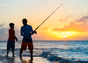 Five things children can do on a fishing day