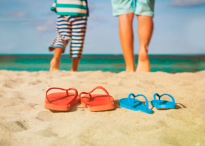 You should protect your feet on the beach if you are diabetic