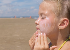 What to do with sunburn