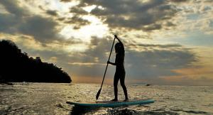 Enjoy the sea of Punta Leona on a Paddle Board